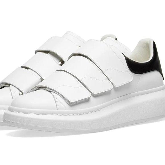 Alexander McQueen Shoes | Velcro Wedge